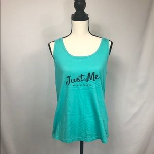 Tops - #0306 Just Me by Tina Marie tank XL